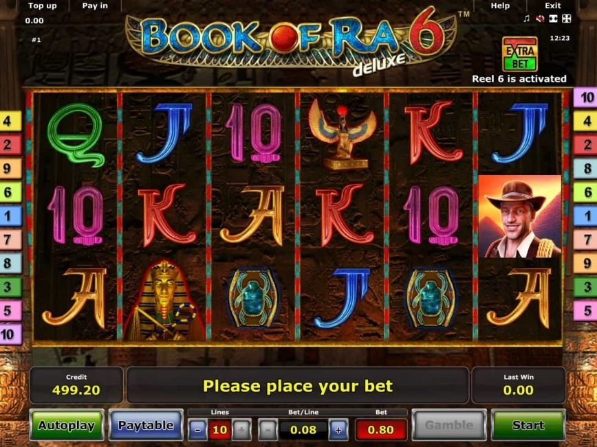 Book of Ra 6: the best slot online game